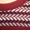 Fairisle Sweater - Claret