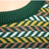 Fairisle Sweater- Green
