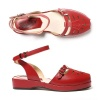 Vera - Red Leather