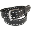 Black Stitched Belt