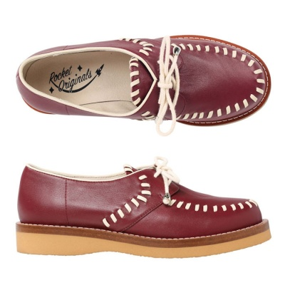 Ladies Stitched Gibson - Burgundy