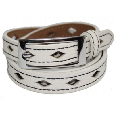 White Diamond Belt