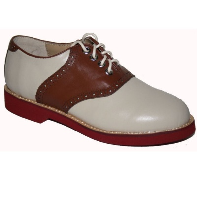 Saddle Shoe - Brown/Cream