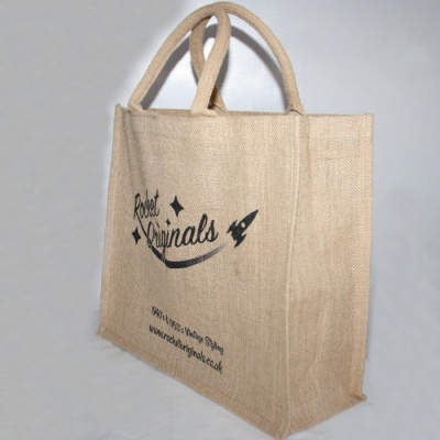 Jute Shopper - with logo