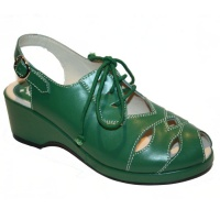 Bella Style - Green Leather