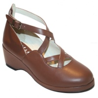 Celia style - Brown Leather