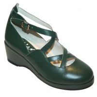 Celia Style - Green Leather