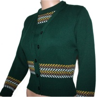 Fairisle Twinset - Green