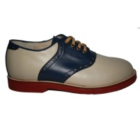 Saddle Shoe - Blue/Cream