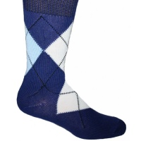 Argyle Socks - Blue