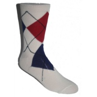 Argyle Socks - Cream