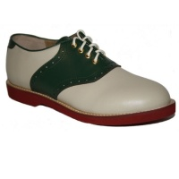 Saddle Shoe - Green/Cream