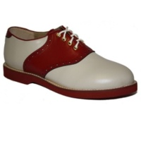 Saddle Shoe - Red/Cream