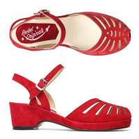 Thelma - Red Suede