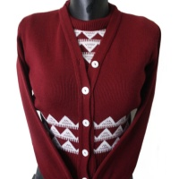 Twinset - Claret & White