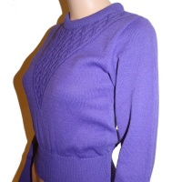 Long Sleeve Sweater - Violet