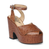 Miranda - Brown Reptile Print Leather